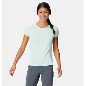 Mountain Hardwear Mighty Stripe - T-shirt manches courtes Femme - turquoise